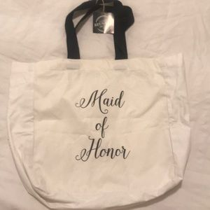 NWT Maid of Honor Tote